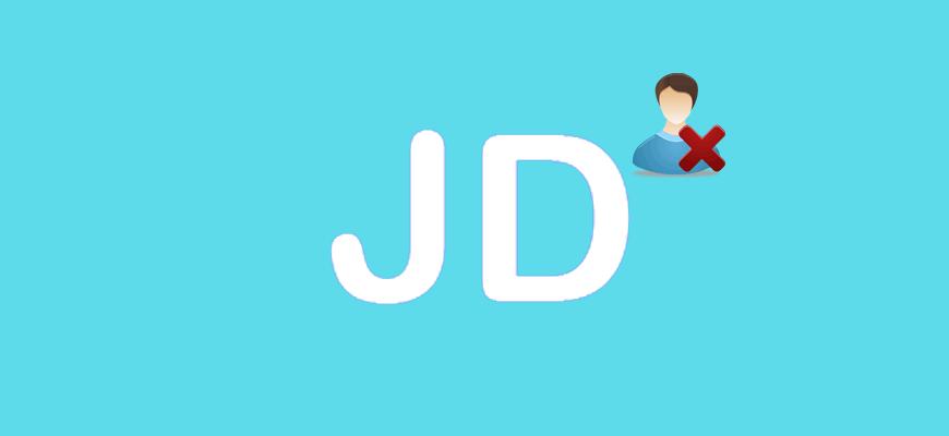 Удалить профиль из JuliaDates